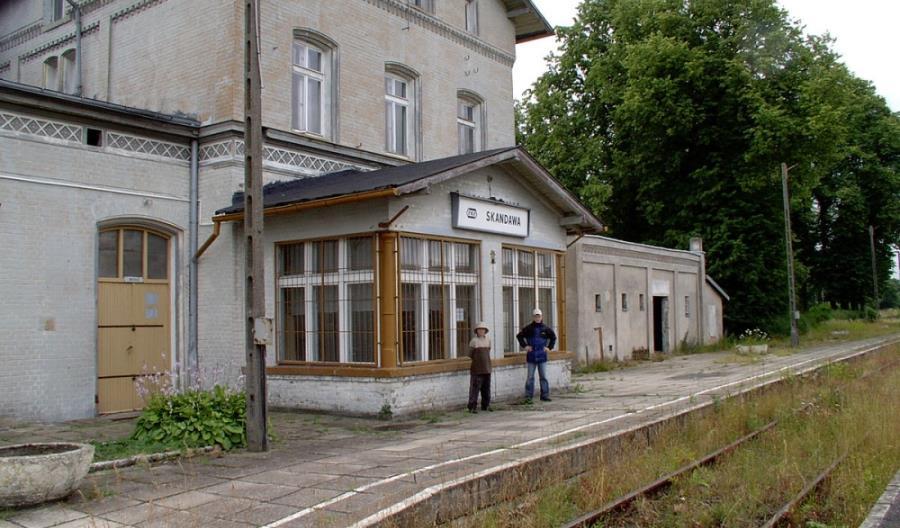 Prace na przejściu granicznym w Skandawie. PLK szukają wykonawcy opracowania