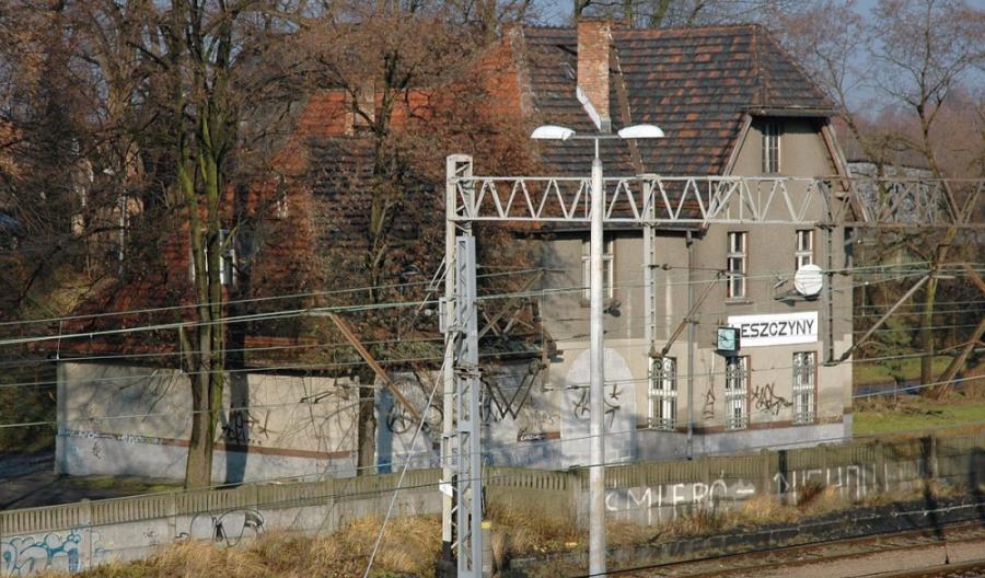 Stacja Leszczyny z nowymi urządzeniami srk. Poprawi się wyjazd z Górnego Śląska