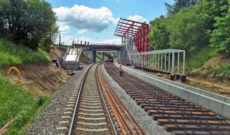 W Gdyni powstał kolejowy splot torowy