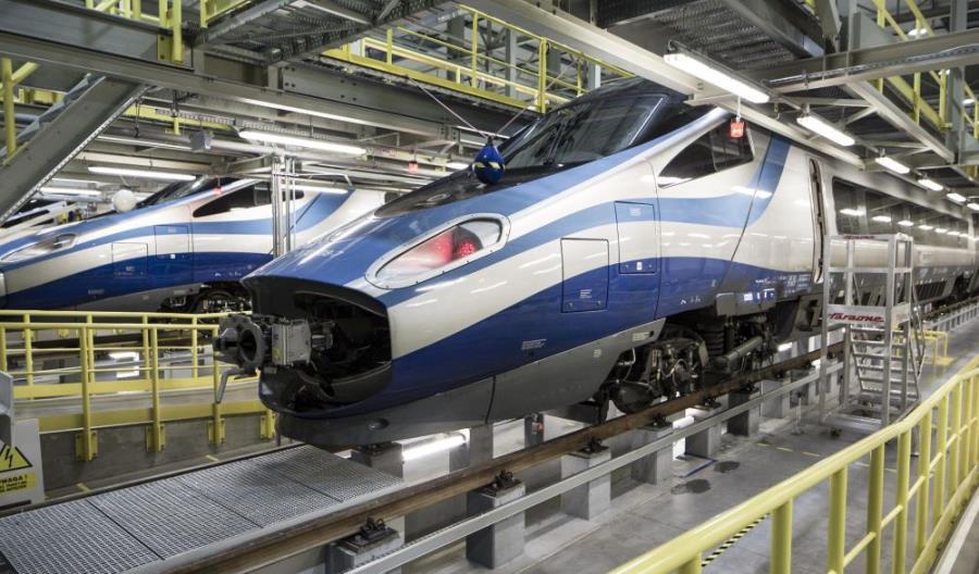Alstom rozpoczął przeglądy P4 Pendolino. Bez montażu internetu