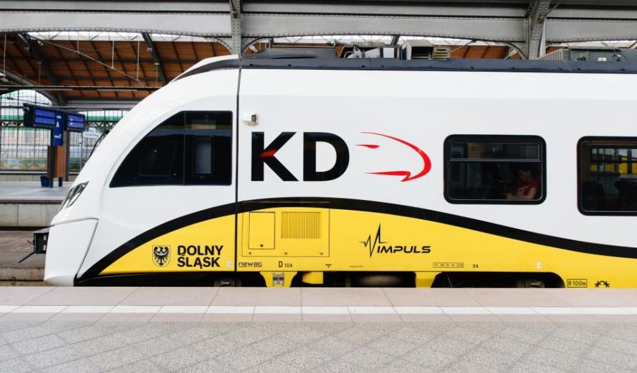 Koleje Dolnośląskie przewiozły o milion pasażerów więcej niż rok temu
