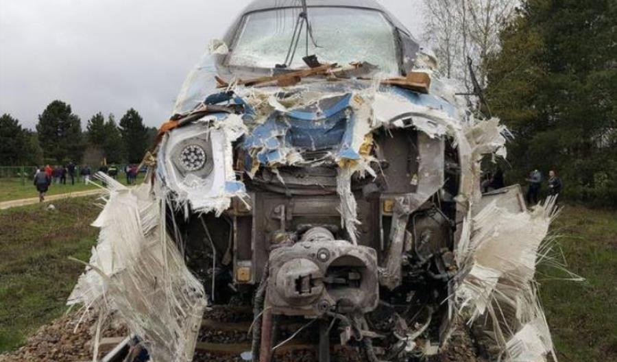 Pendolino po wypadku wciąż bez naprawy. Jest dawcą części
