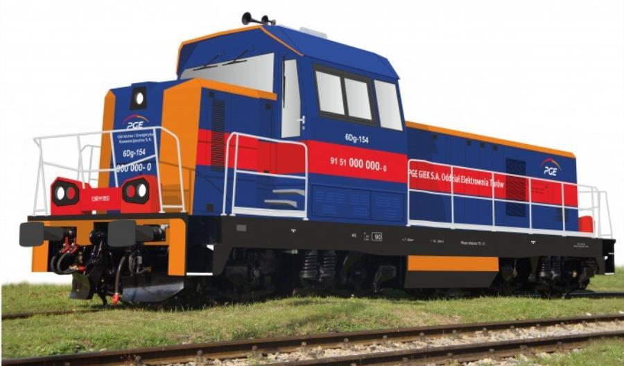 PGE zleca rekonstrukcję czterech lokomotyw spalinowych 6D