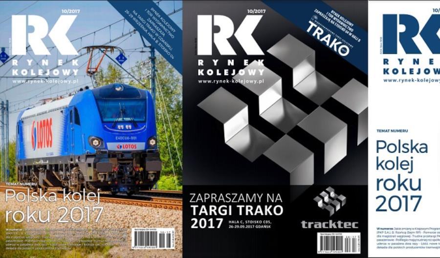 """Nowy """"Rynek Kolejowy"""" dostępny bezpłatnie na Trako!"""