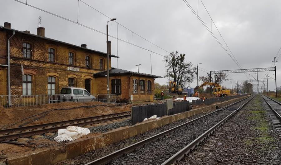 Nowe i modernizowane przystanki na linii Poznań – Piła
