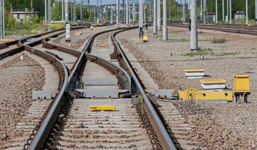 PLK wymieni 103 rozjazdy na liniach kolejowych w południowej Polsce