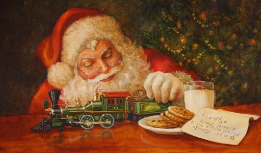 Malarstwo kolejowe. Piękno dawnych kart pocztowych