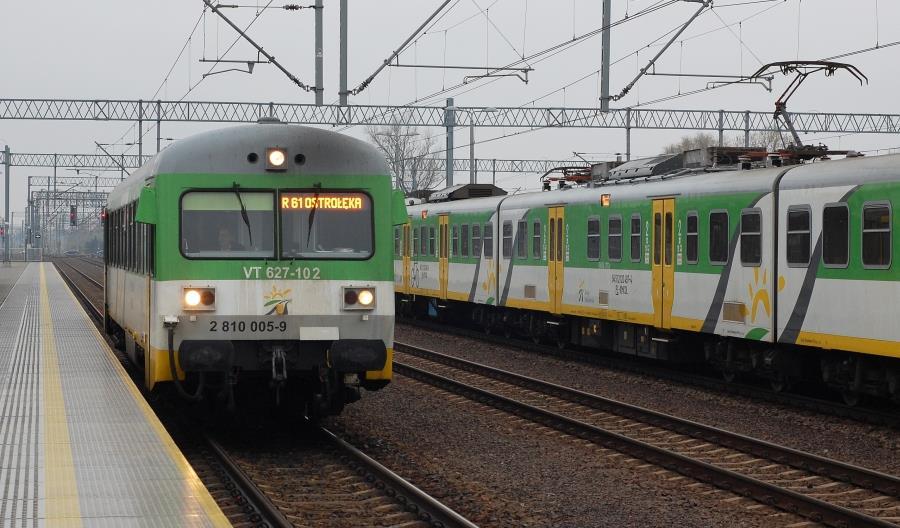 Koleje Mazowieckie korygują zimowy rozkład jazdy na wielu trasach