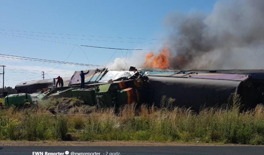 Katastrofa kolejowa w RPA