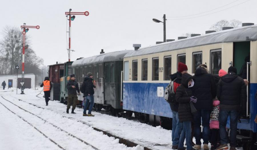 Kolej Rogowska: Powrót pociągów zimowych