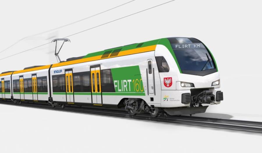 Stadler i Koleje Mazowieckie podpisały ogromną umowę ramową na dostawy pociągów