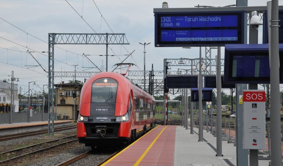 PLK: Nowe możliwości kolei w województwie kujawsko-pomorskim