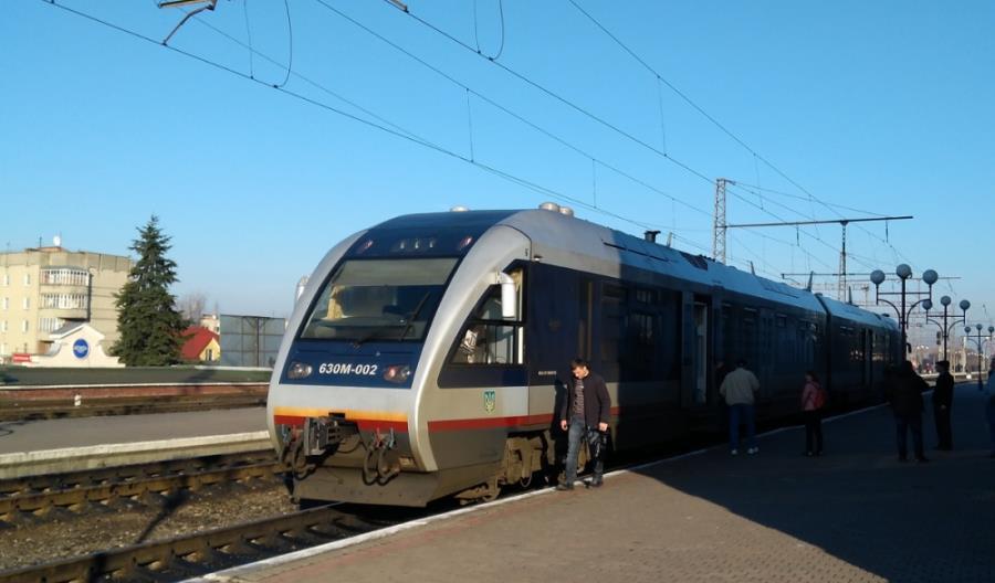 Niska punktualność pociągów Polska – Ukraina