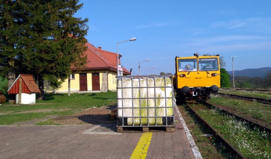 Trwa remont tunelu pod Przełęczą Łupkowską