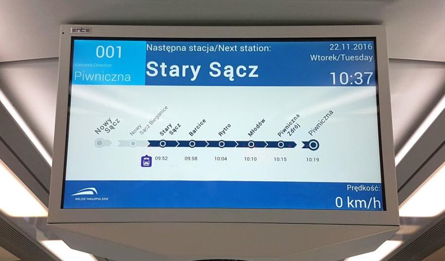 Ente dostarczy informację pasażerską dla Polregio