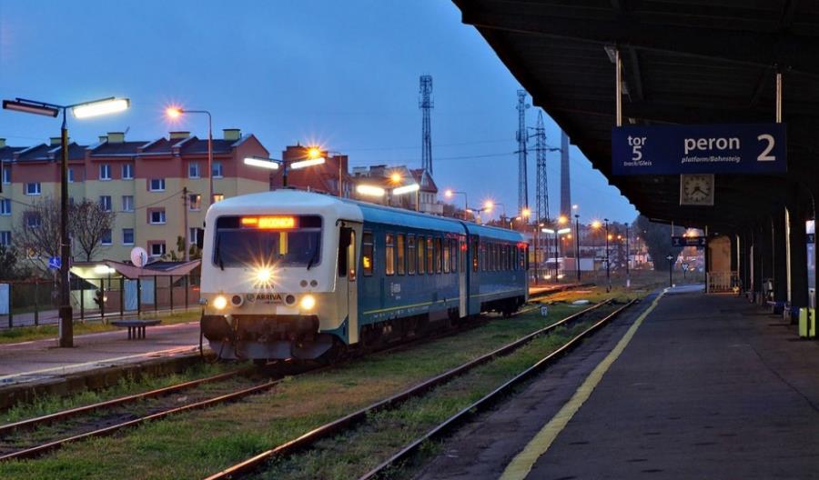 Koleje Wielkopolskie z VT628 Arrivy