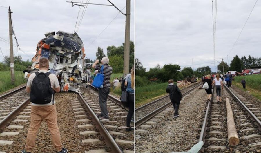 Po wypadku pod Szczecinem: Przywrócono ruch do Kostrzyna, śledztwo prokuratury [AKTUALIZACJA]