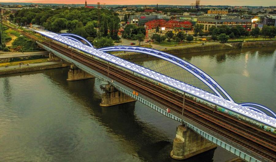 Cztery tory przez Wisłę. PLK zaczyna budowę mostów w Krakowie