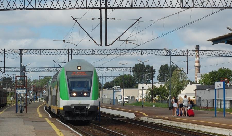 Letnia reaktywacja pociągów ze Słupska do Ustki. Od września znów remont