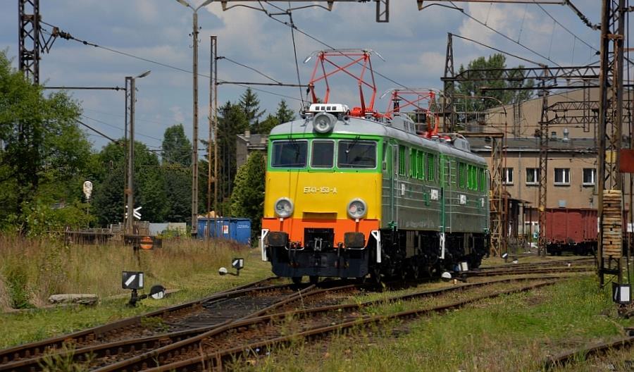 Kolejna lokomotywa ET41 z PKP Cargo przypomni o przeszłości