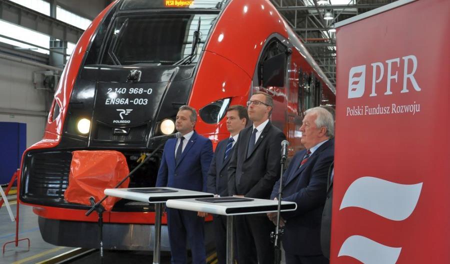 PFR podpisał umowę. Przejmuje Pesę i zainwestuje 300 mln zł