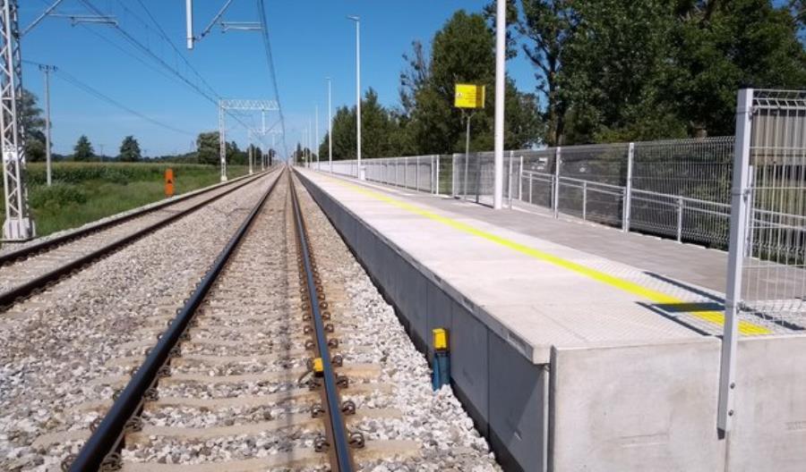 Nowe perony na Węglówce