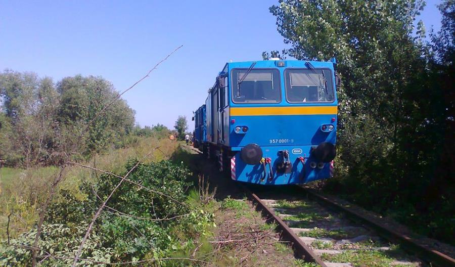 Pasjonaci udrożnili linię 102. Lobbują za przywróceniem połączeń na Ukrainę i w Bieszczady