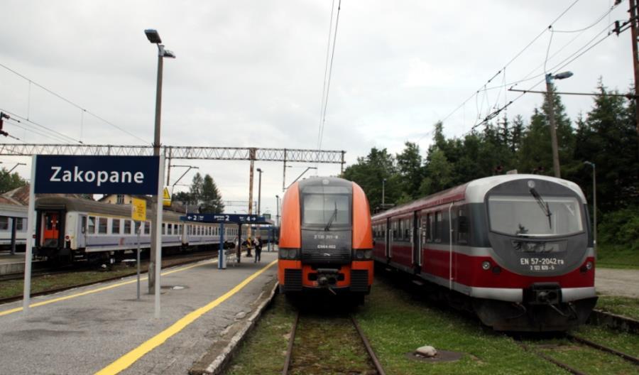 Priorytet pociągów PKP IC pogorszył rozkład jazdy między Nowym Targiem a Zakopanem