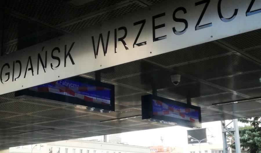 Piąty termin uruchomienia tablic informacyjnych dla pasażerów w Gdańsku Wrzeszczu