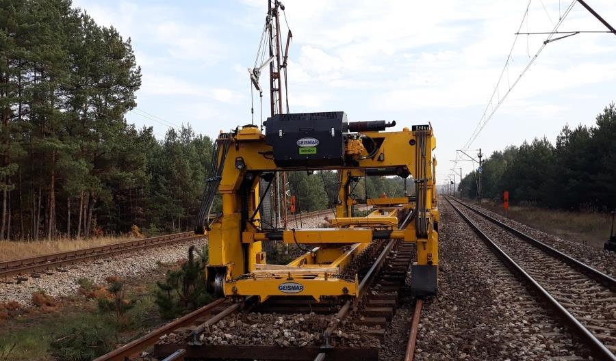 Coraz gorsze czasy przejazdu podczas modernizacji linii 62