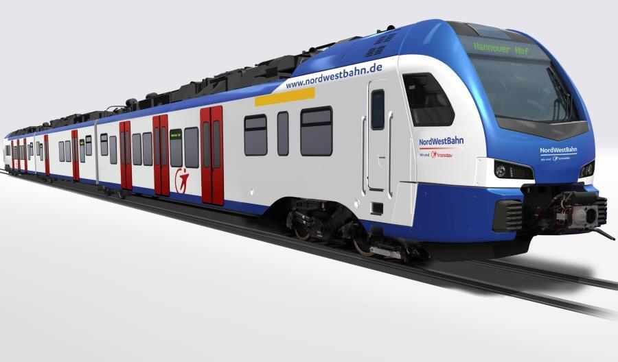 Stadler dostarczy 64 Flirty dla S-Bahn Hannover