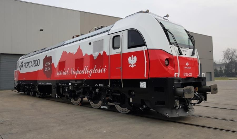 Pierwsza w Europie sześcioosiowa lokomotywa Newag Dragon 2 z zezwoleniem