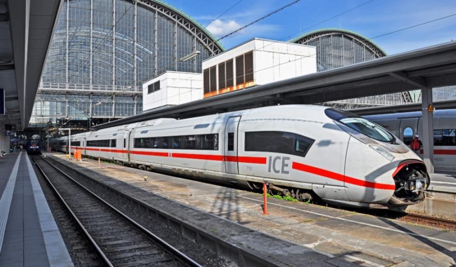 Zakończył się strajk ostrzegawczy na kolei w Niemczech [aktualizacja]