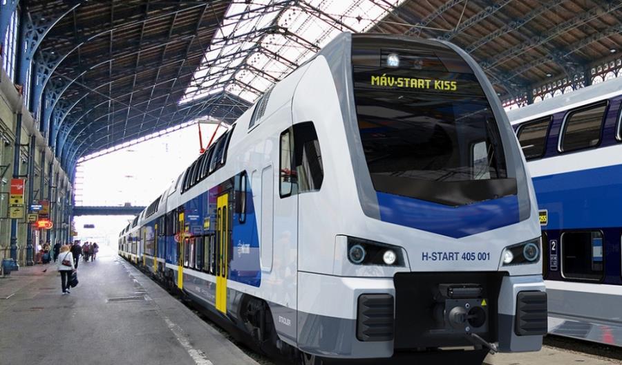 Stadler dostarczy na Węgry kolejne osiem jednostek Kiss