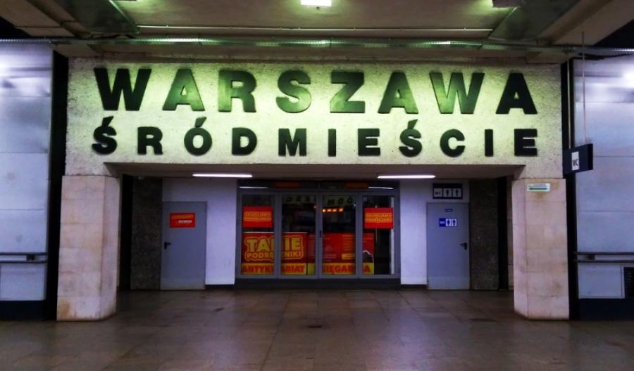 Pociągi Polregio znów kursują przez Warszawę-Śródmieście
