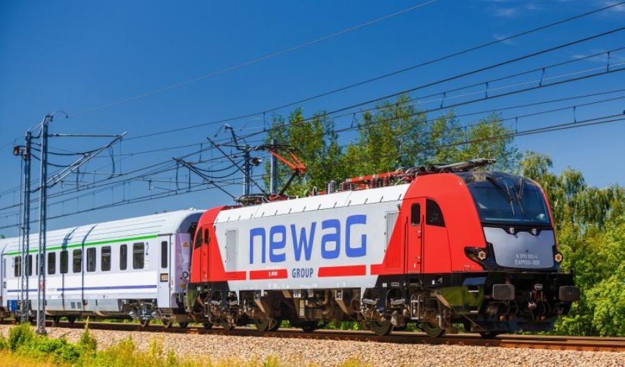 Newag zamówił urządzenia trakcyjne ABB do Griffinów dla PKP IC