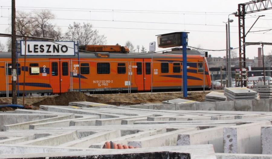 Prace na linii Poznań – Wrocław opóźnią się o kolejne pół roku
