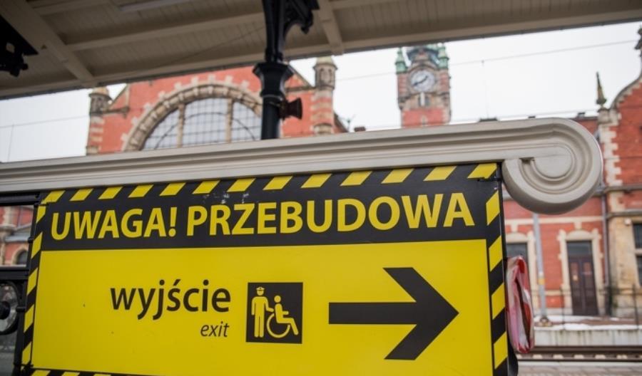 Ponad kilometrowe dojście do Gdańska Głównego od strony PKS. Pomoże ZTM