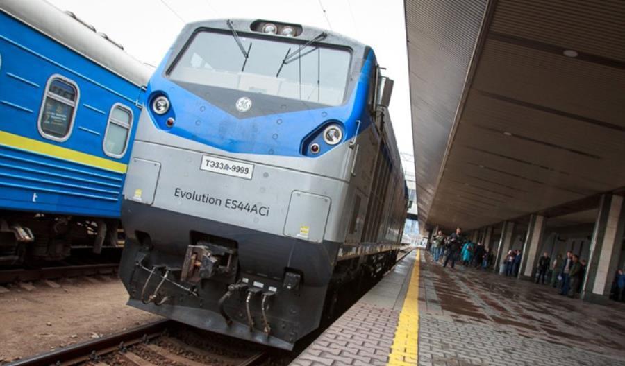 GE dostarczyło 30 lokomotyw na Ukrainę