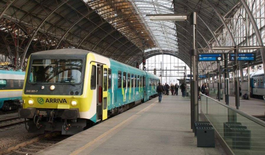 Arriva przejmuje obsługę na czterech czeskich liniach kolejowych