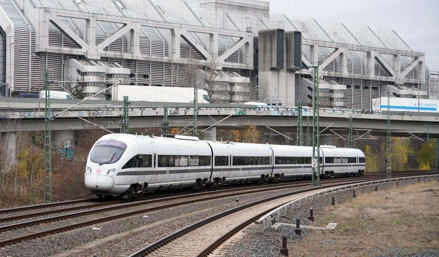 DB uruchamia mobilne laboratorium na bazie spalinowego pociągu ICE