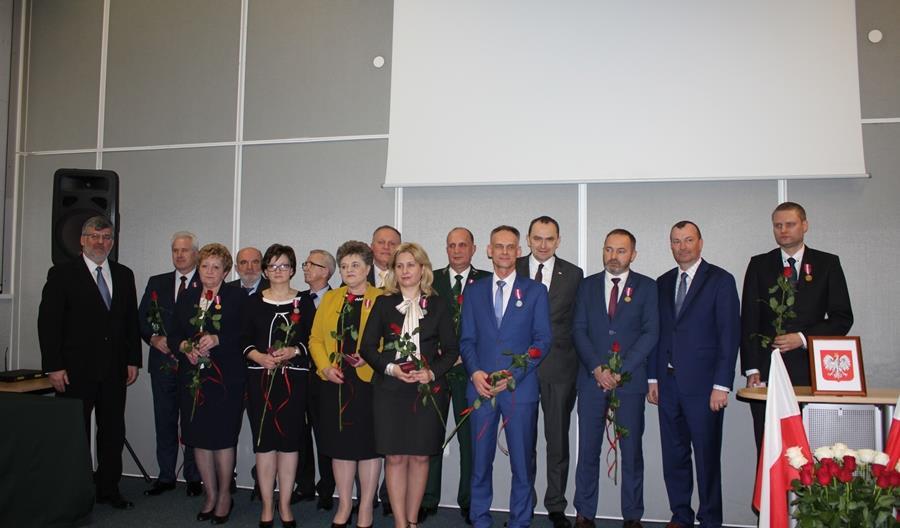 Pracownicy Kolei Mazowieckich otrzymali Medale za Długoletnią Służbę