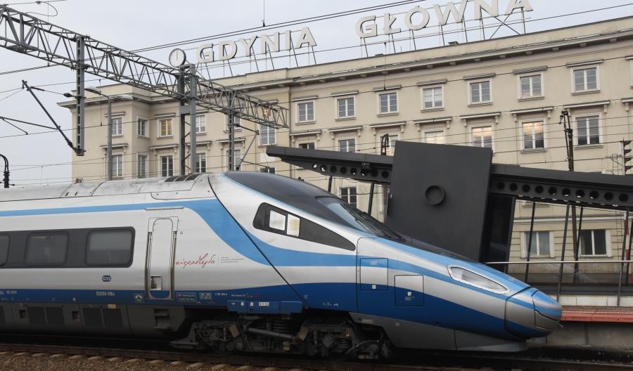 Pendolino pojedzie 200 km/h z Warszawy do Gdańska z końcem 2019 roku