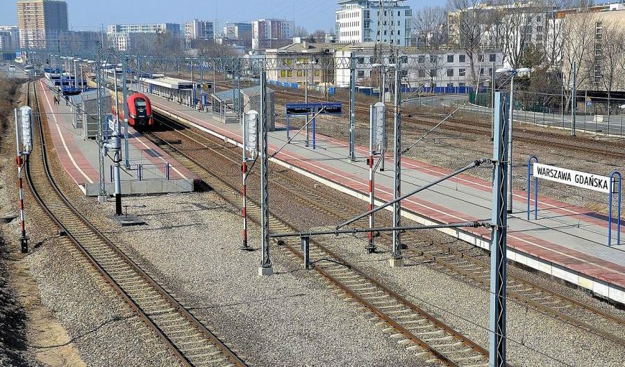 W weekend wstrzymanie ruchu pociągów pomiędzy stacjami Warszawa Praga i Warszawa Gdańska