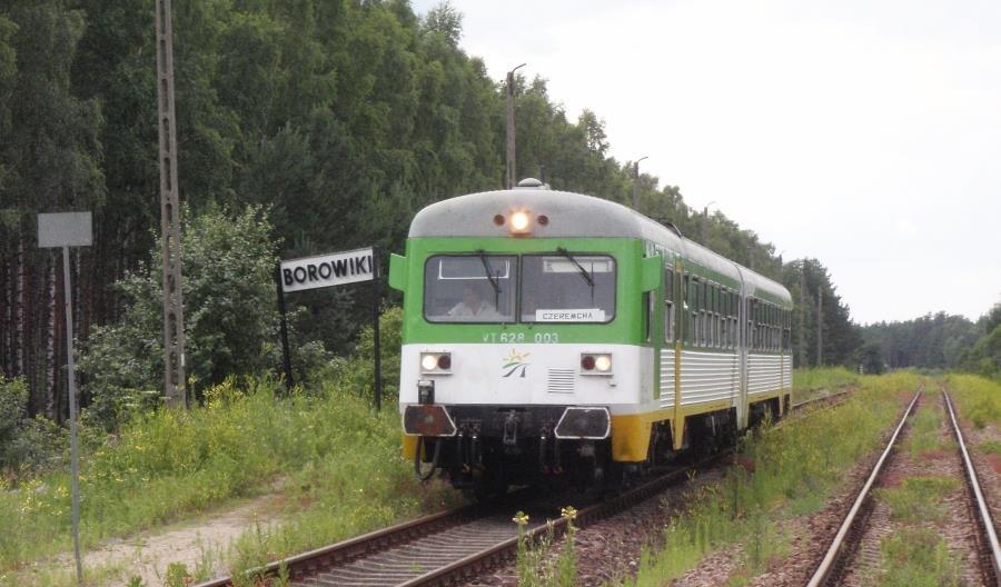 Koleje Mazowieckie pozbywają się spalinowych VT628
