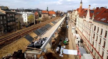 W drugiej połowie roku pociągi pojadą nową estakadą w Krakowie