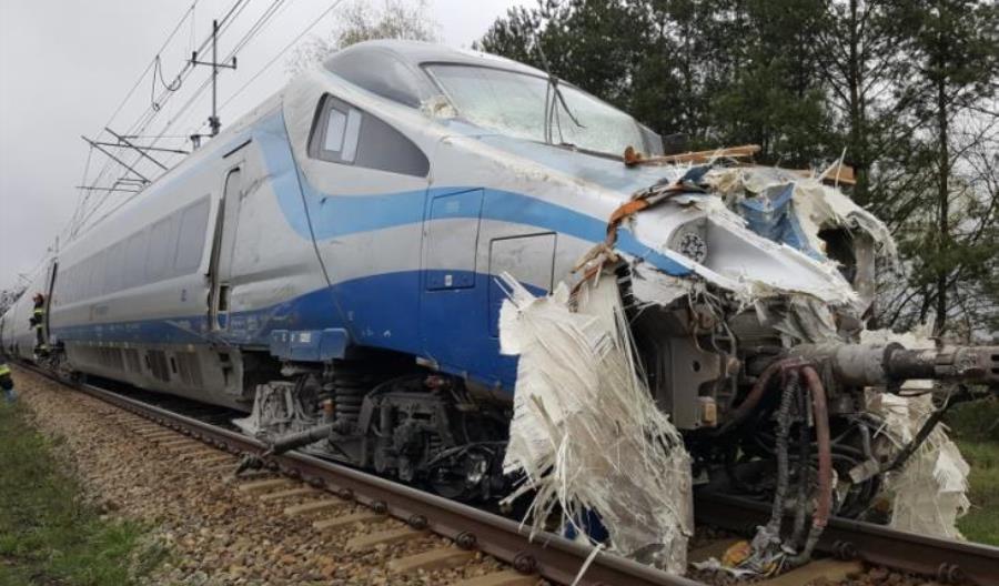 Pendolino uszkodzone w Modlinie wróciło. Skład z Ozimka dopiero w 2021?