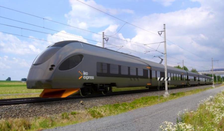 Pociąg CRRC dla Leo Express przyjedzie na Trako?