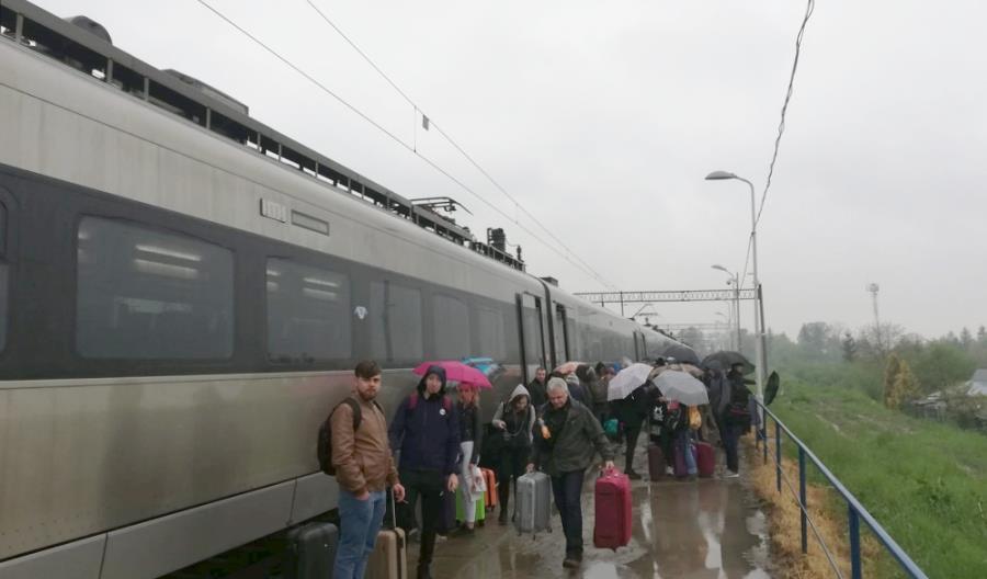 500 osób wyproszono z pociągu w Medyce. Jest stanowisko PKP Intercity