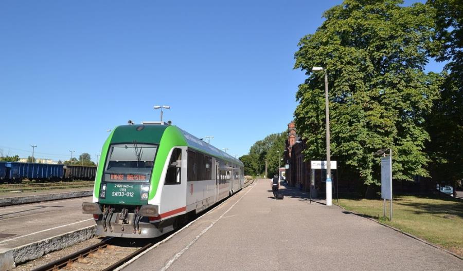 Suwałki: Tygodniowy objazd dla pociągów z Białegostoku